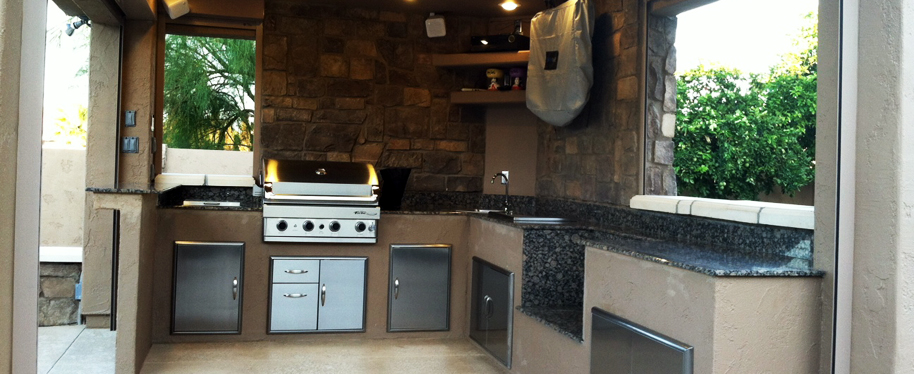 Affordable custom outdoor kitchens by J BBQ Islands