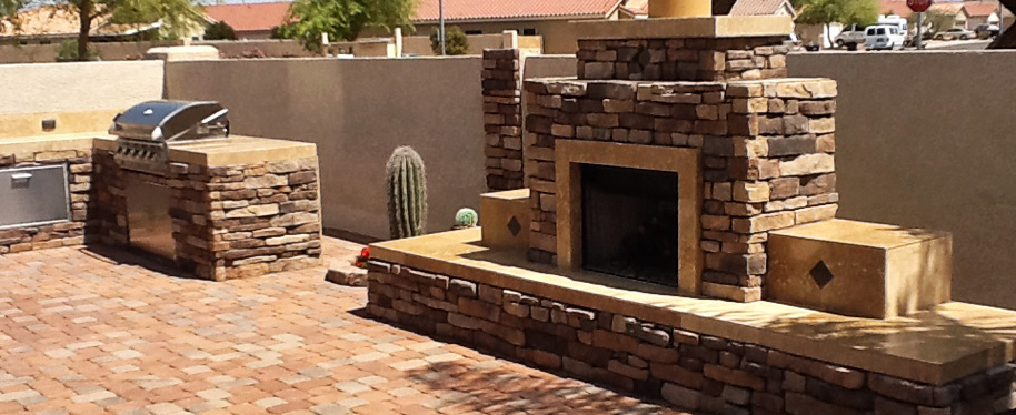 Arizona's best custom fireplaces