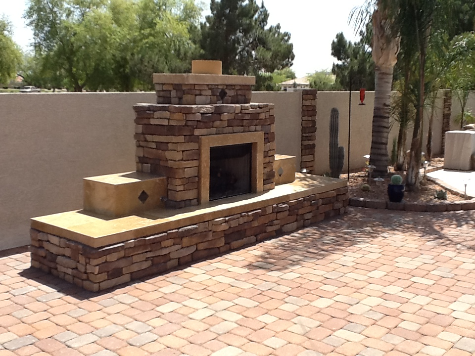Fireplaces j bbq islands for Fireplace and bbq